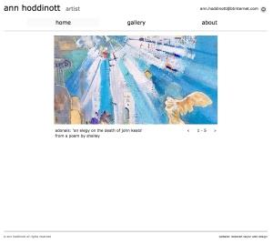 website, Ann Hoddinott